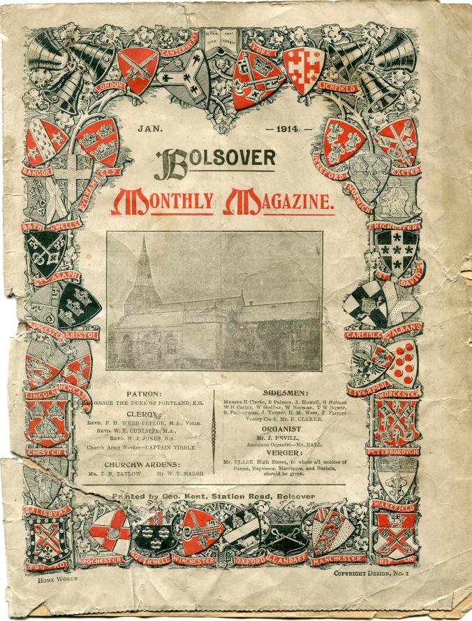 Bolsover Parish Magazine 1914