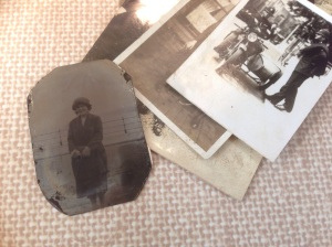 Photographs from Brenda Pegge of Bolsover Civic Society. Including a tintype from around 1910-1920s.