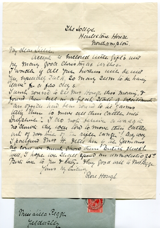 WW1 letters from the front