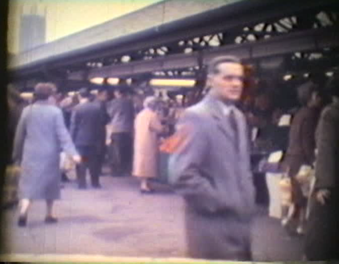 Morledge Market, Derby 1965
